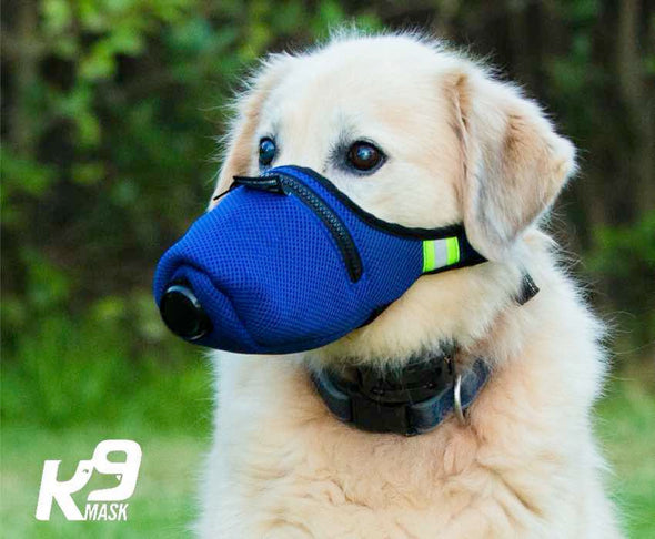 K9 Mask® Dog AIr Filter  Pollution Mask - Extra Large