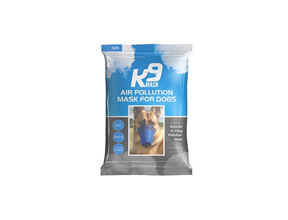 K9 Mask® - Pure Air X1 Húð loftmengunarsía Mask - Medium