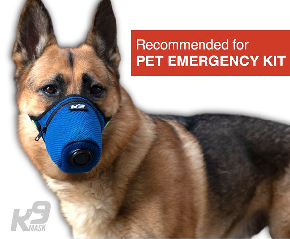 Air Filter Mask for Dog Pet Emergency Kit