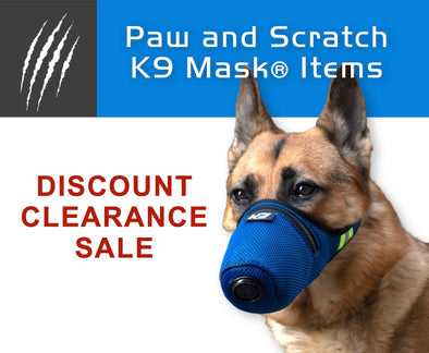 Disount Clearance Sale Price K9 Mask® Dog Air Pollution Filter