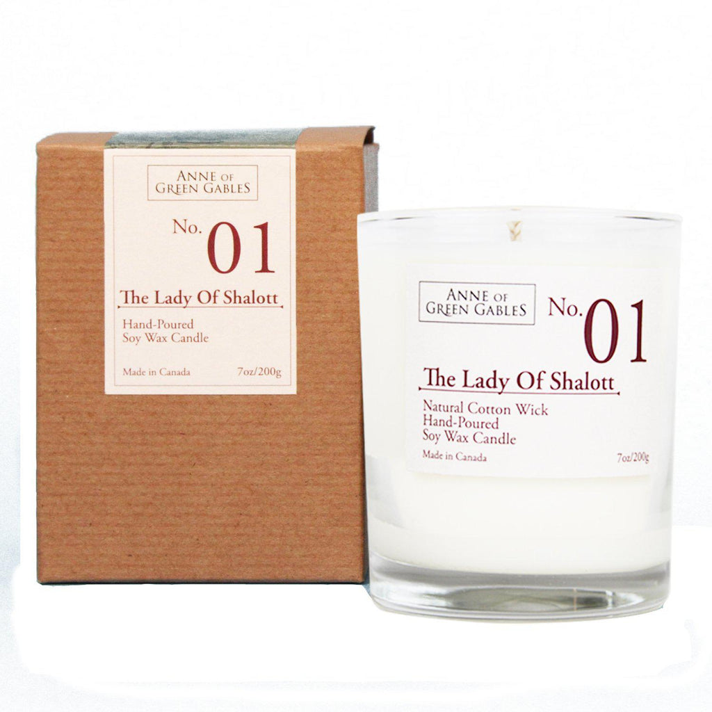 The Lady of Shalott Candle