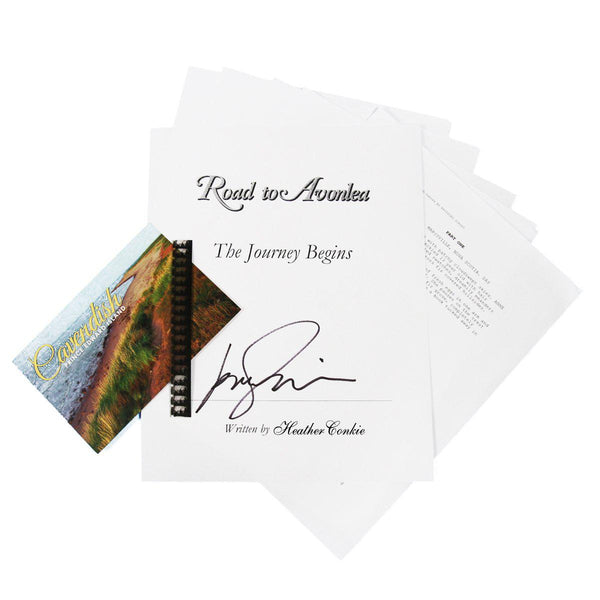 Road to Avonlea: The Journey Begins Autographed Script Gift Set