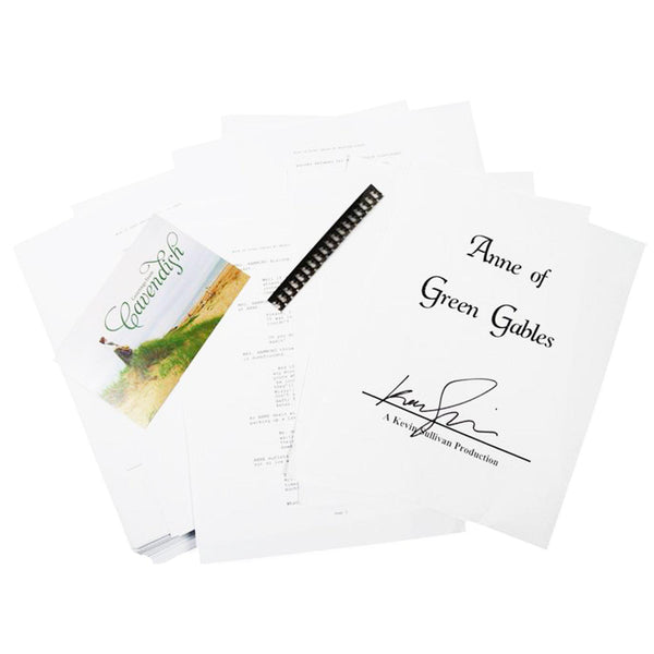 Anne of Green Gables: Autographed Script Gift Set