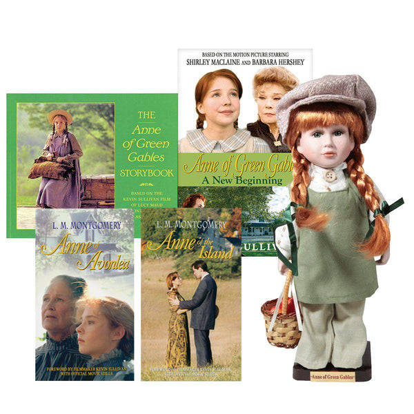 "Anne of Green Gables: 12"" Movie Doll with Four Anne of Green Gables Books"