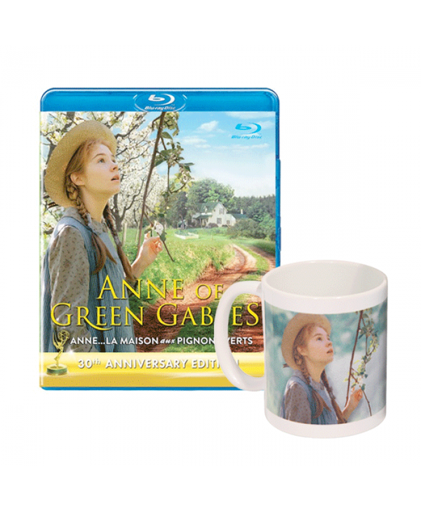 Anne of Green Gables 30th Anniversary Blu-ray and Mug