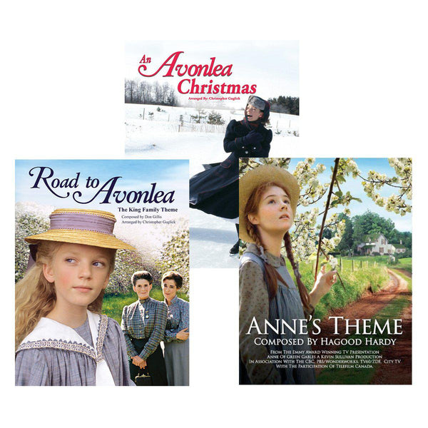 Avonlea and Anne Set of Three Sheet Music