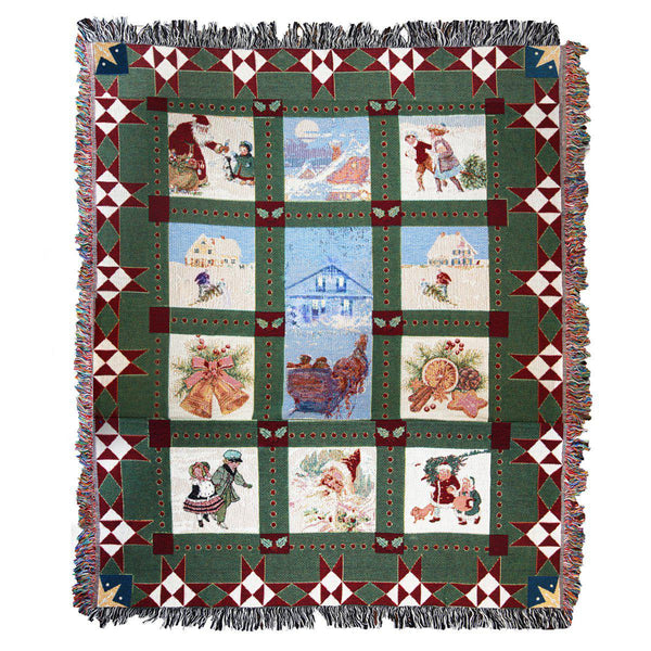 Christmas in Avonlea Quilt Blanket
