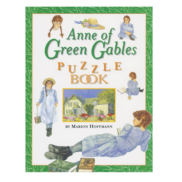 Anne of Green Gables Puzzle Book