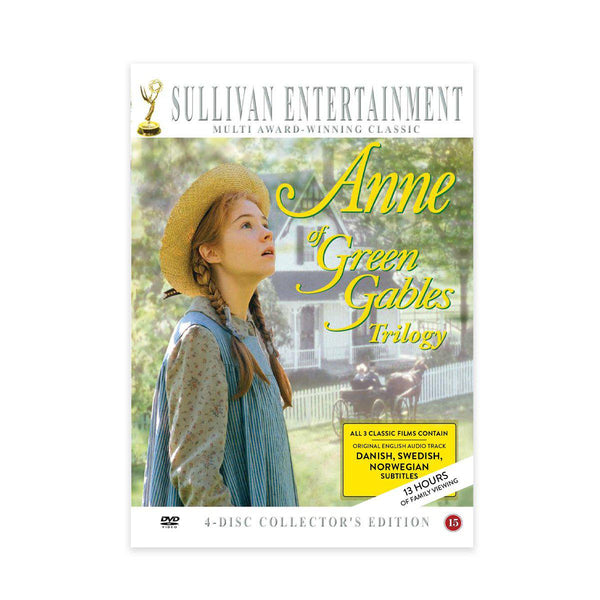 Anne of Green Gables Trilogy-Scandinavian subtitled DVD