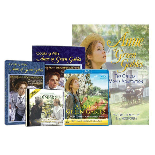 Anne of Green Gables: Blu-ray, Movie Adaptation Book And Cook Book Set