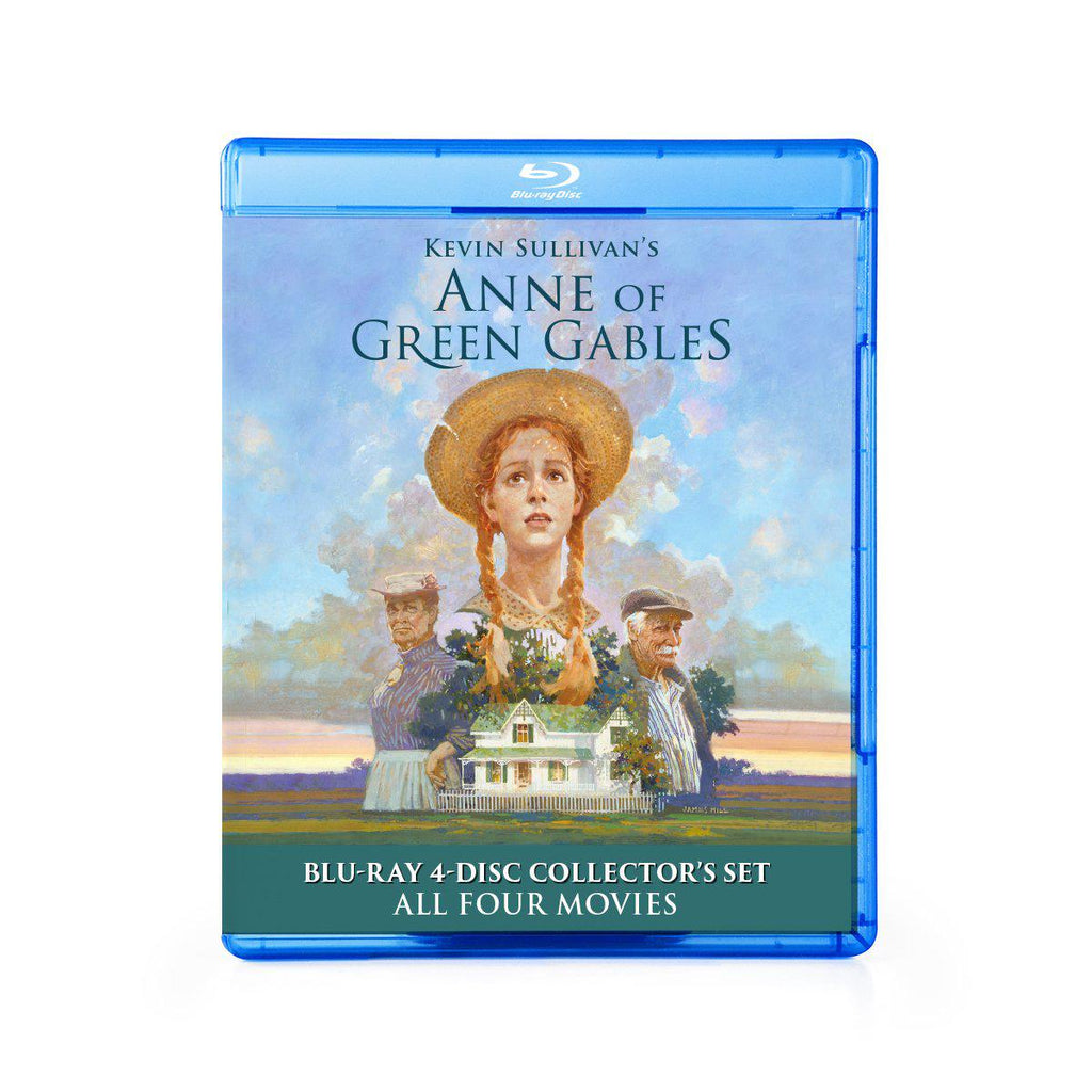 Anne of Green Gables Four-Part Blu-ray Collector's Set