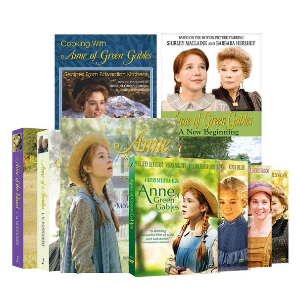 Anne of Green Gables Collection DVD & Book set