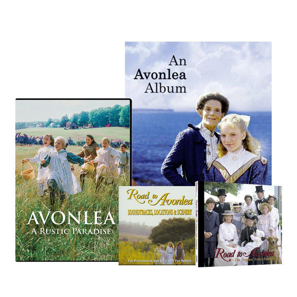 Avonlea A Rustic Paradise DVDs, Book & CD Set