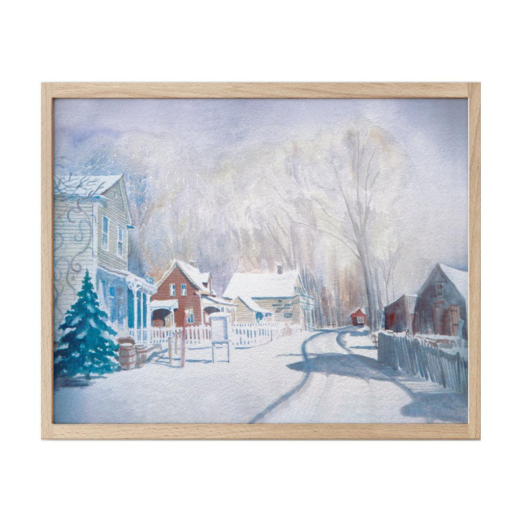 Avonlea Print: Avonlea Christmas Morning
