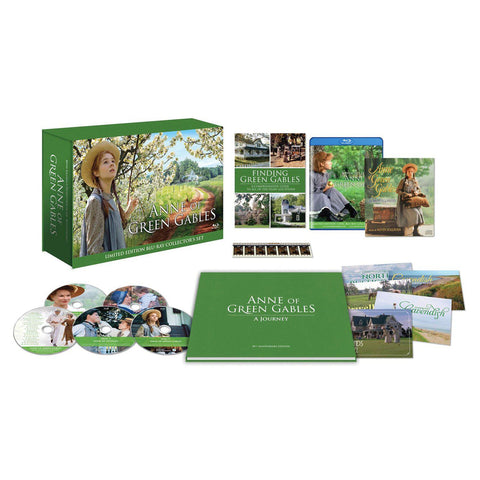 Anne Of Green Gables Exclusive Blu-ray Set with Movie Adaptation Book by Kevin Sullivan