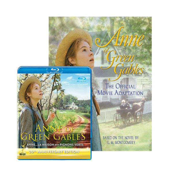 Anne of Green Gables 30th Anniversary Blu-ray and Movie Adaptation Book