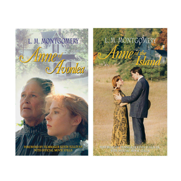 Two Official Anne of Green Gables Books-Created By The Producer/Director of Anne of Green Gables