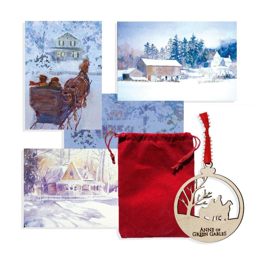 Avonlea Ornament and Cards
