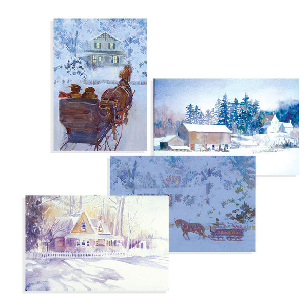 Avonlea Winter Cards