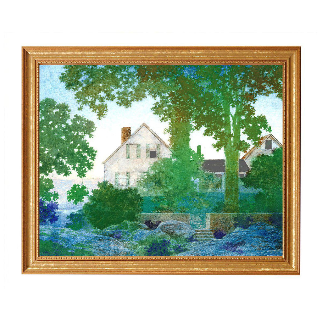 Green Gables Print, By Maxfield Parrish