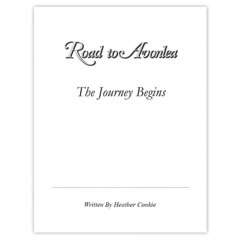 Road to Avonlea: The Journey Begins Autographed Screenplay