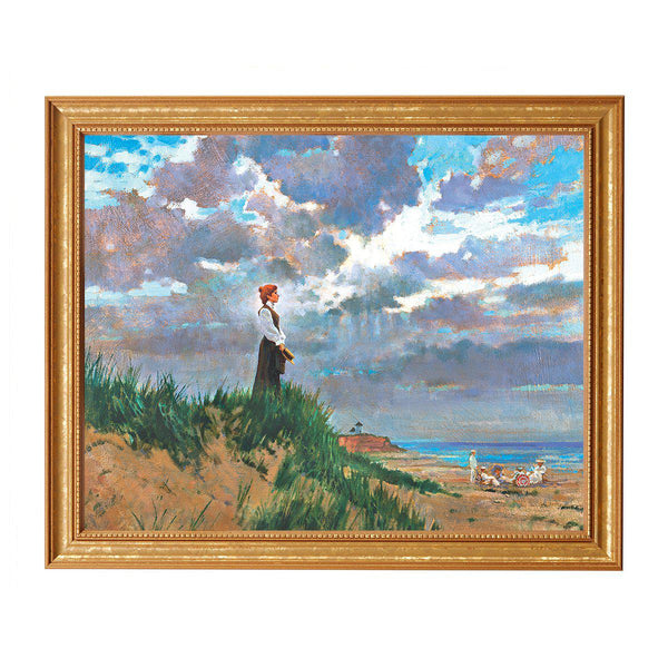 Anne Shirley by the Ocean Print, By James Hill