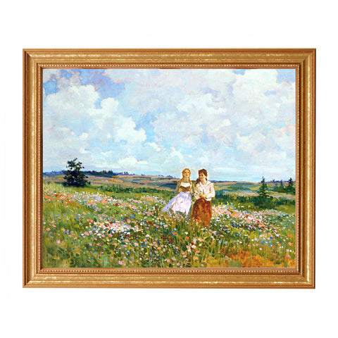 Anne and Diana Kindred Spirit Print, By James Hill