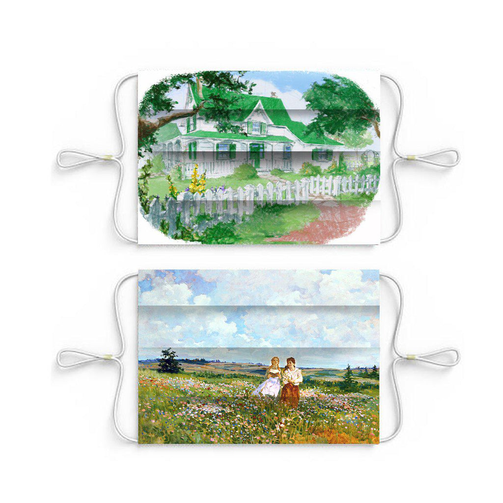 Anne of Green Gables Face Masks-Set Of Two
