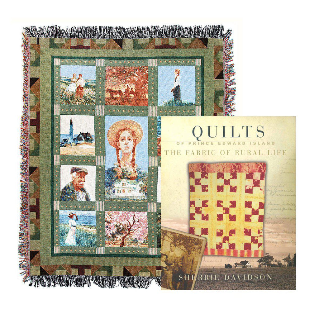 Anne Inspired Quilt Pattern Blanket and PEI Quilt Book