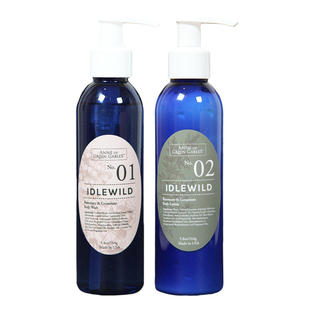 Natural Idlewild Lotion & Body Wash Duo