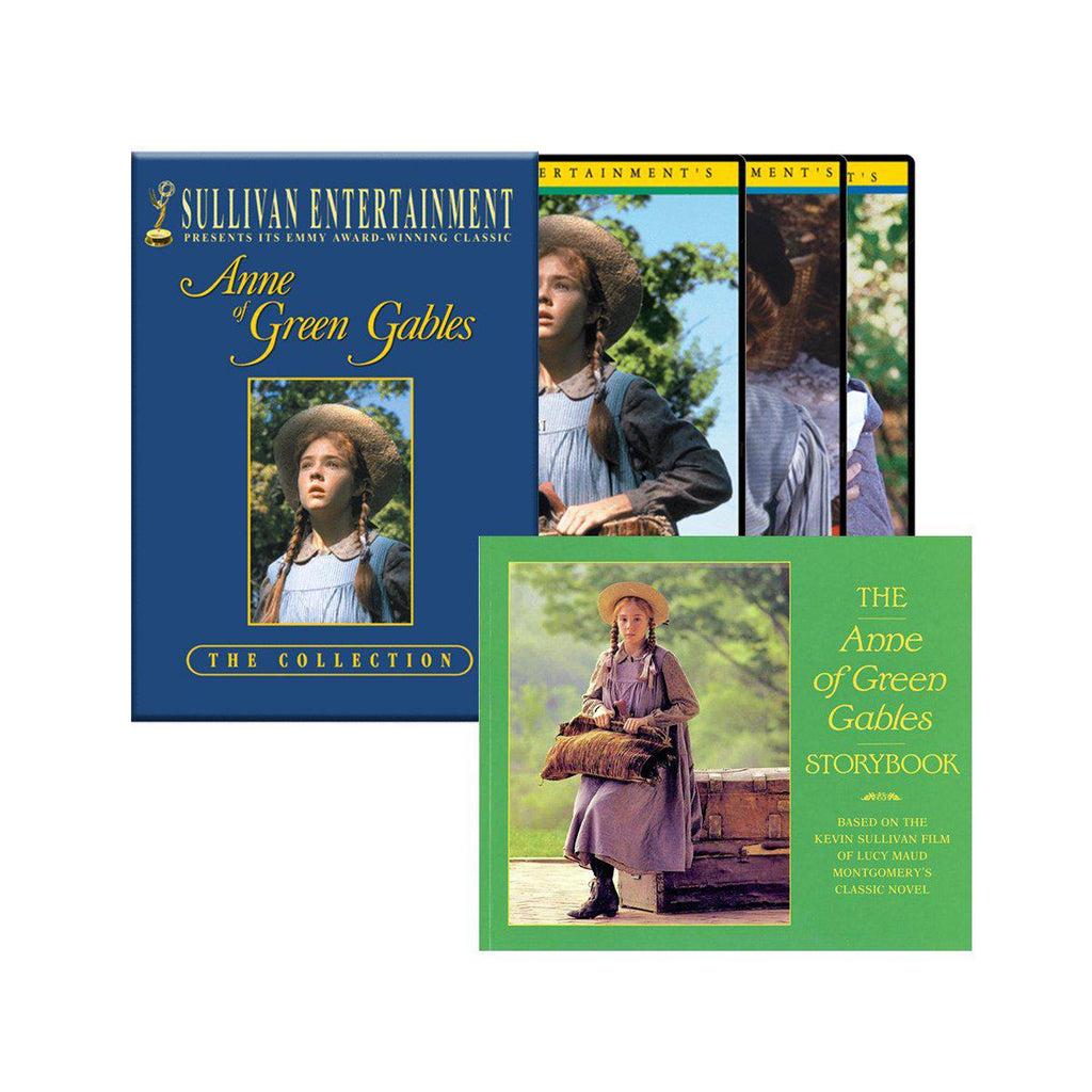 Anne of Green Gables Trilogy DVD set and Storybook