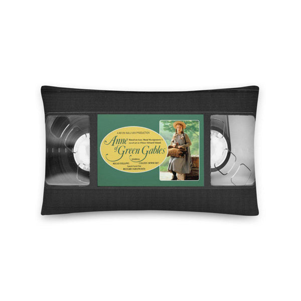 Anne of Green Gables 1985 VHS Pillow