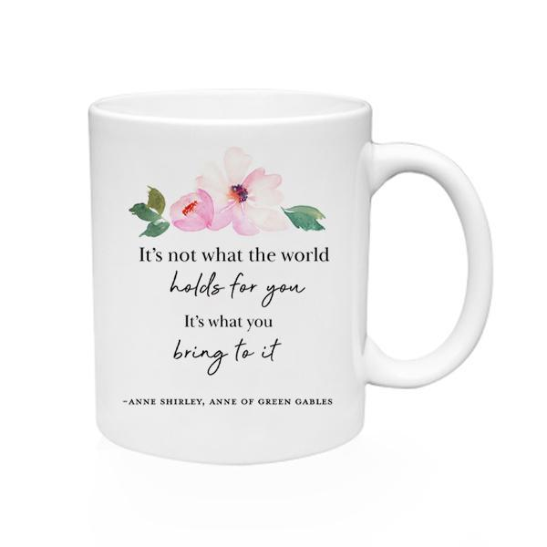 What The World Holds Mug