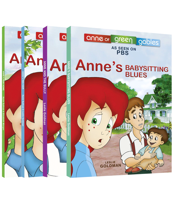 Anne of Green Gables Animated Easy Reader Set