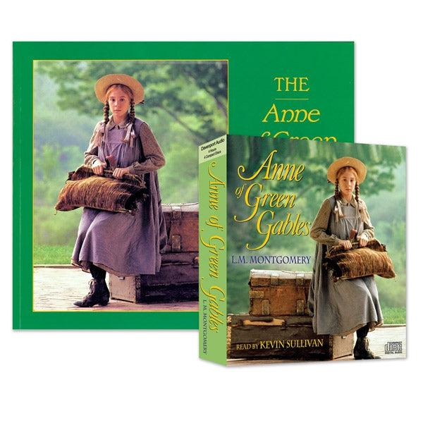Anne of Green Gables Soft Cover Storybook Package including Audio Book for the Car