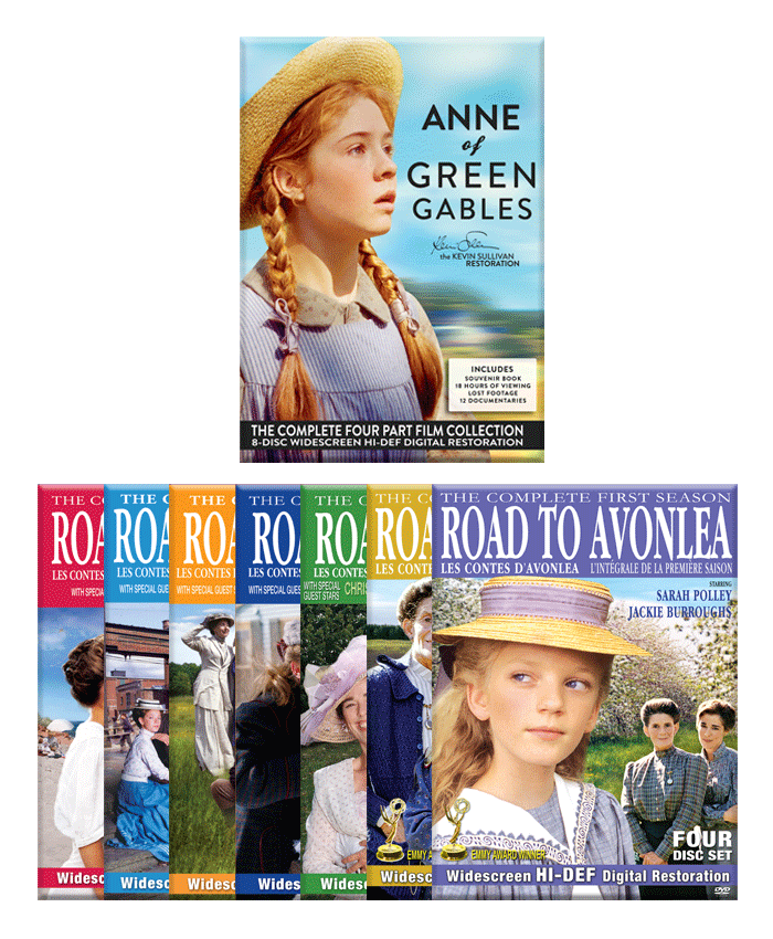Anne of Green Gables and Road to Avonlea set
