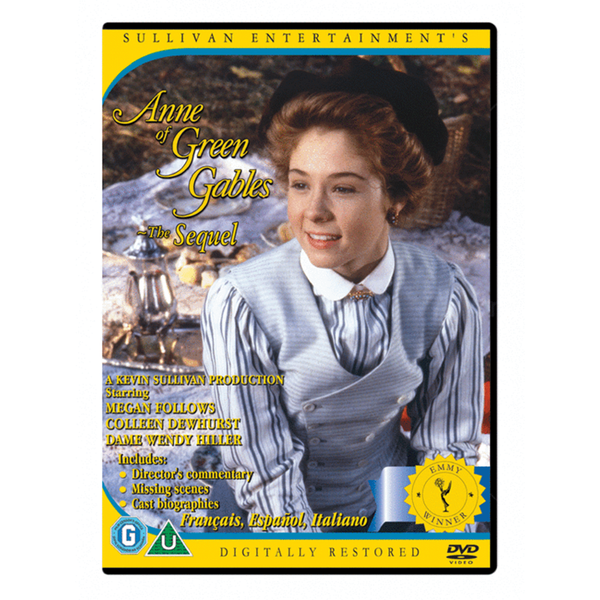 Anne of Green Gables: The Sequel (Anne of Avonlea) -PAL Standard Fullscreen