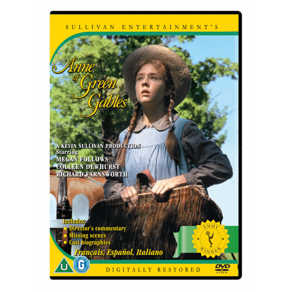 Anne of Green Gables-(PAL DVD) Standard Fullscreen