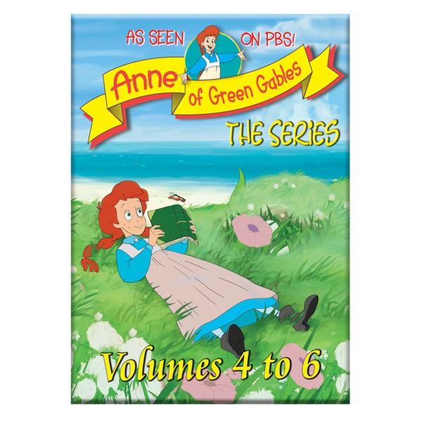 Anne of Green Gables: The Animated Series, Vol 4-6 Box Set- Standard Fullscreen