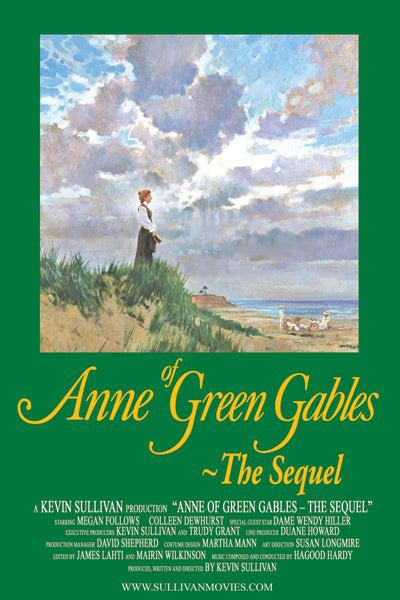 Anne of Green Gables: The Sequel Poster signed by Kevin Sullivan