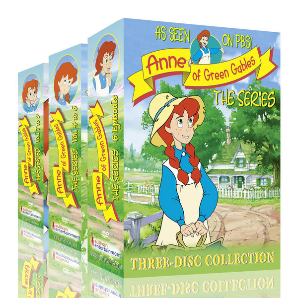 Le Bonheur Au Bout Du Chemin: The Animated Series Box Set, Vol 1-9(French NTSC DVDs) - Standard Fullscreen