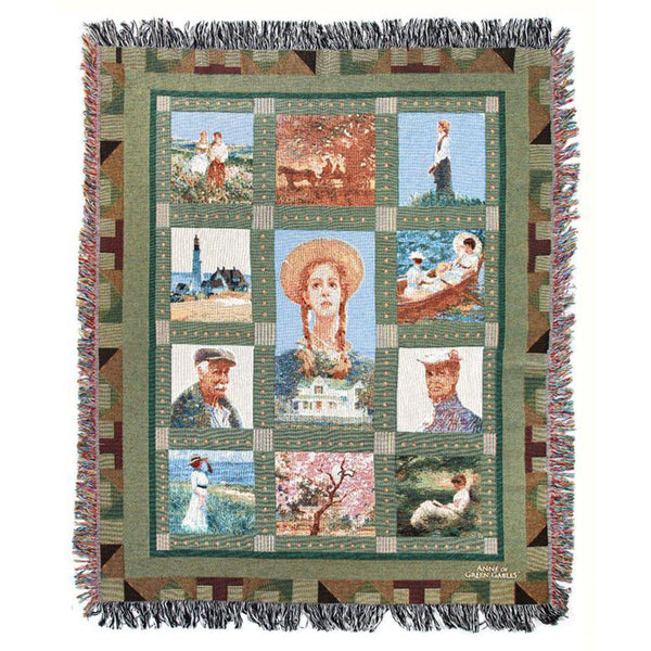 One-of-a-kind Anne Quilt Blanket