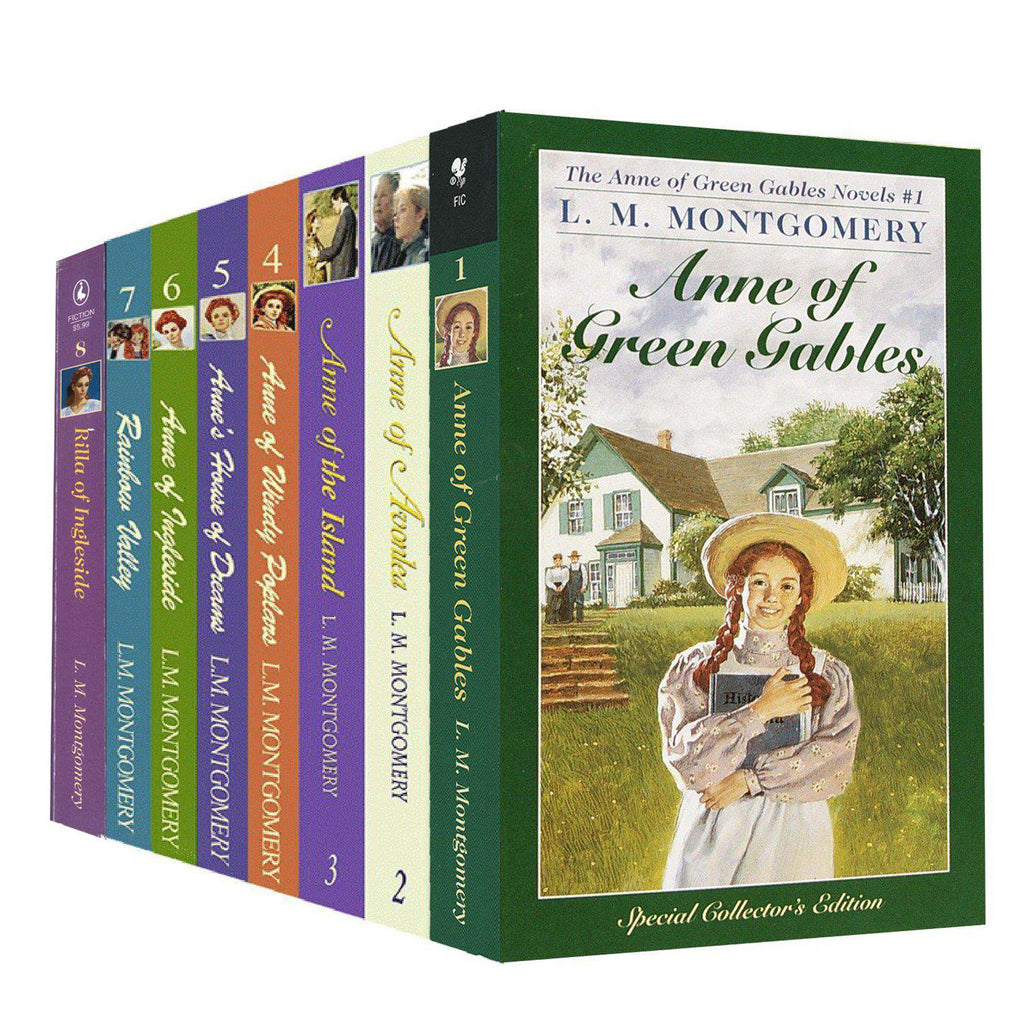 Anne of Green Gables 8 Novel Collection