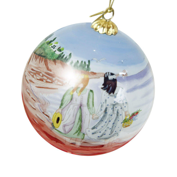 "Kindred Spirits 3"" Christmas Tree Ornament"