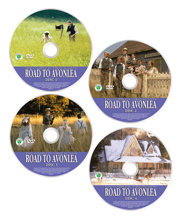 Replacement Disc: Road to Avonlea Digitally Remastered Widescreen Edition