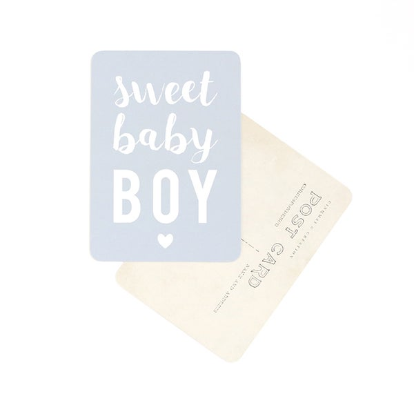 Carte Sweet Baby Boy Cinq Mai