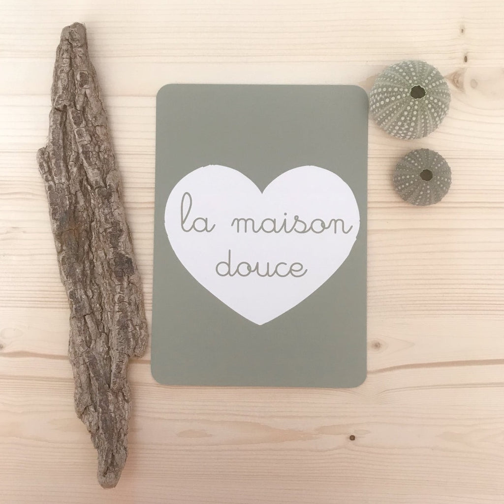 Carte La Maison Douce A little Wild Summer