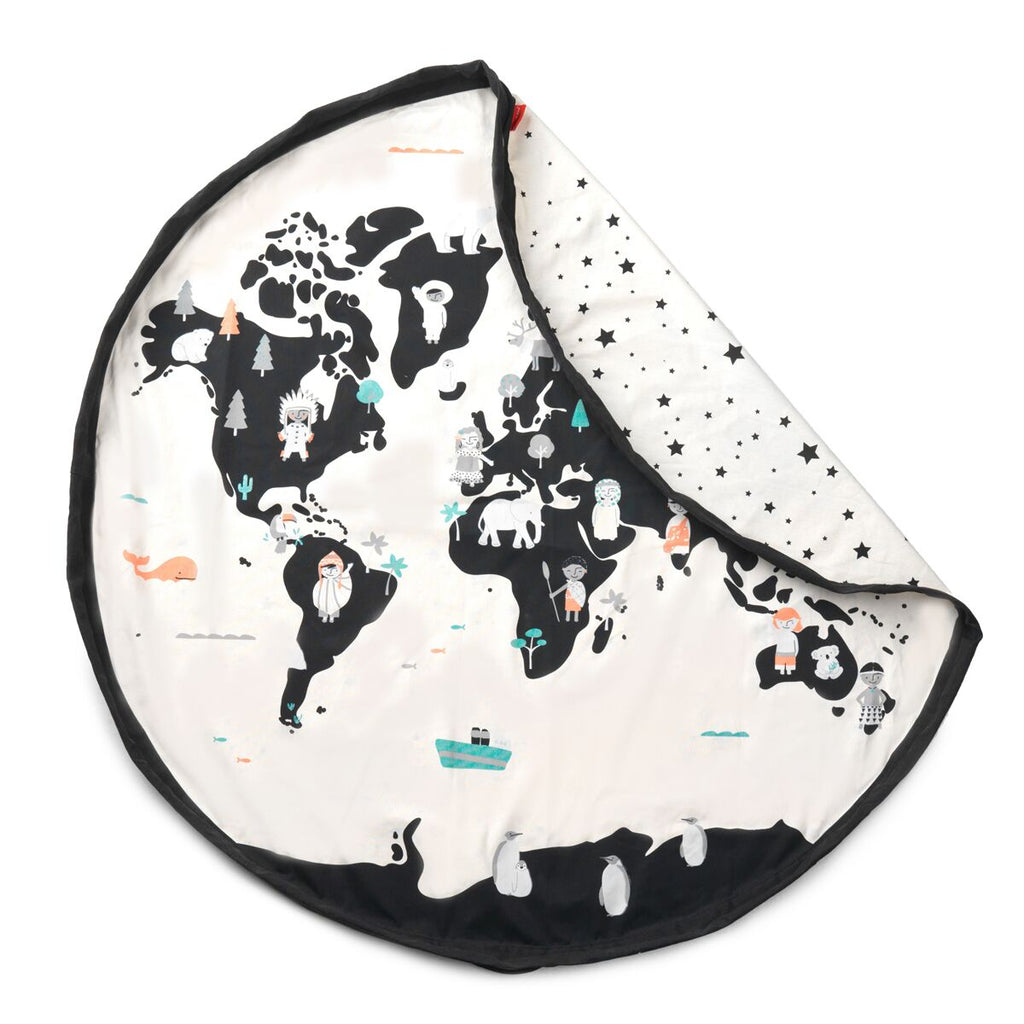 Sac Tapis Worldmap Etoiles Play and Go