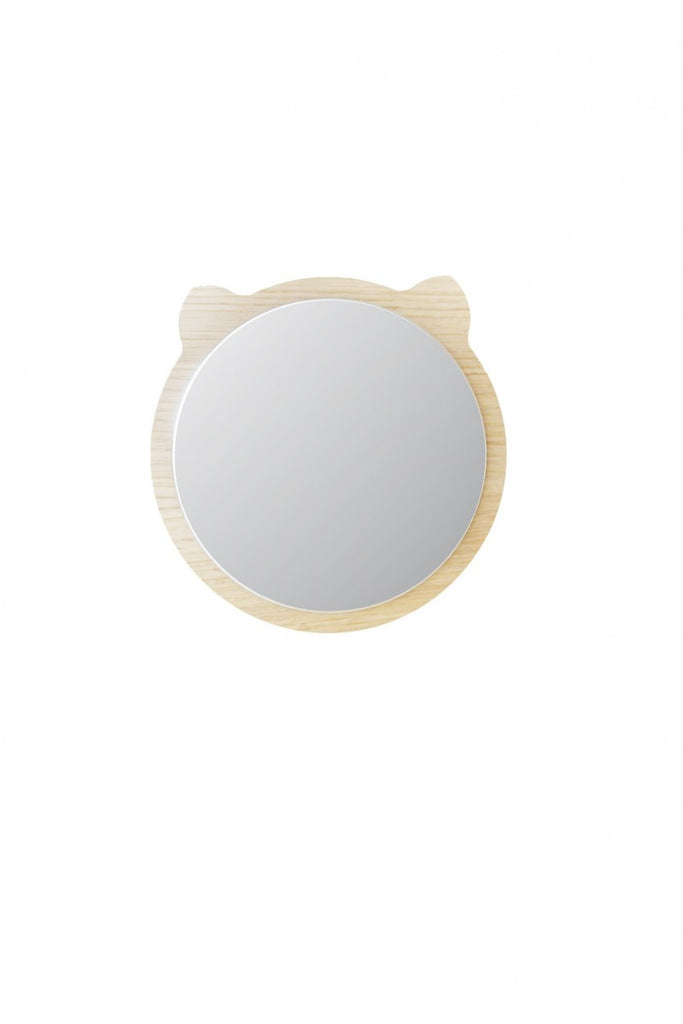 Mini Miroir Bois Ours April Eleven