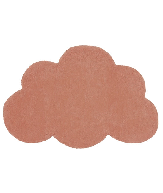 Tapis Nuage Terracotta Lilipinso